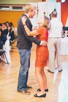 Dancing at the wedding. (Poland, September 2015)