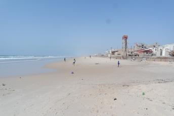 Beach in Saint Louis