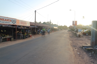 Road from Bakau to Banjul