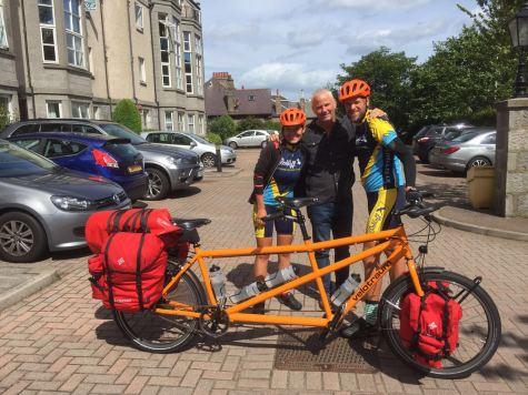With Mark in Aberdeen