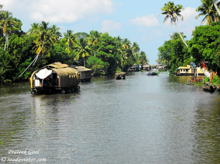 2. Alleppy backwater, Kerala