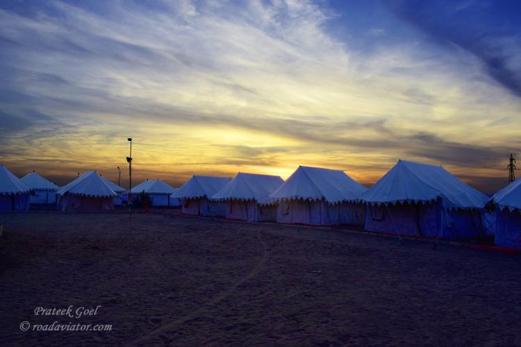 6. Camping in Thar desert, Jaisalmer