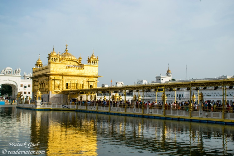 9. Golden temple, Amritsar